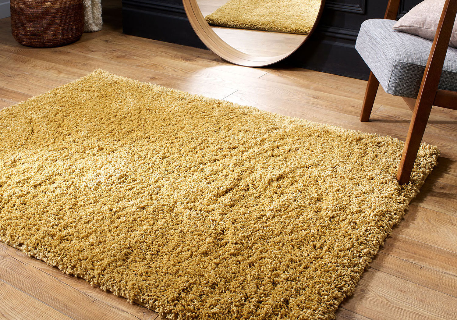 MODERN 5cm HIGH PLAIN SOFT NON-SHED SHAGGY SMALL X LARGE THICK LUXURIOUS NEW RUG