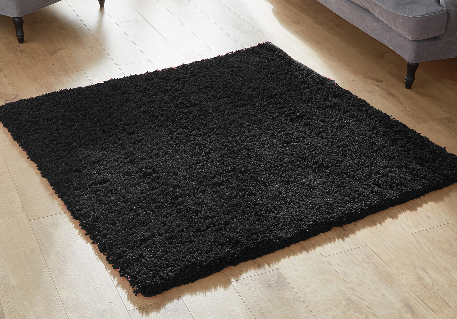 MODERN SMALL EXTRA LARGE CIRCLE ROUND RUNNER 5CM HIGH EVEREST SHAGGY THICK RUGS