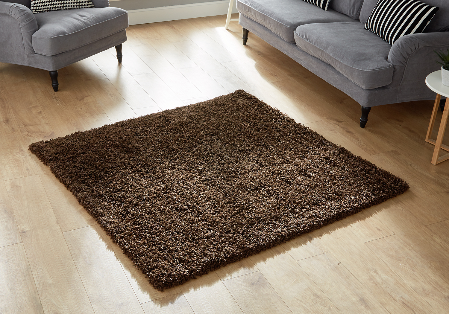 Large Small Square Circle Runner Thick