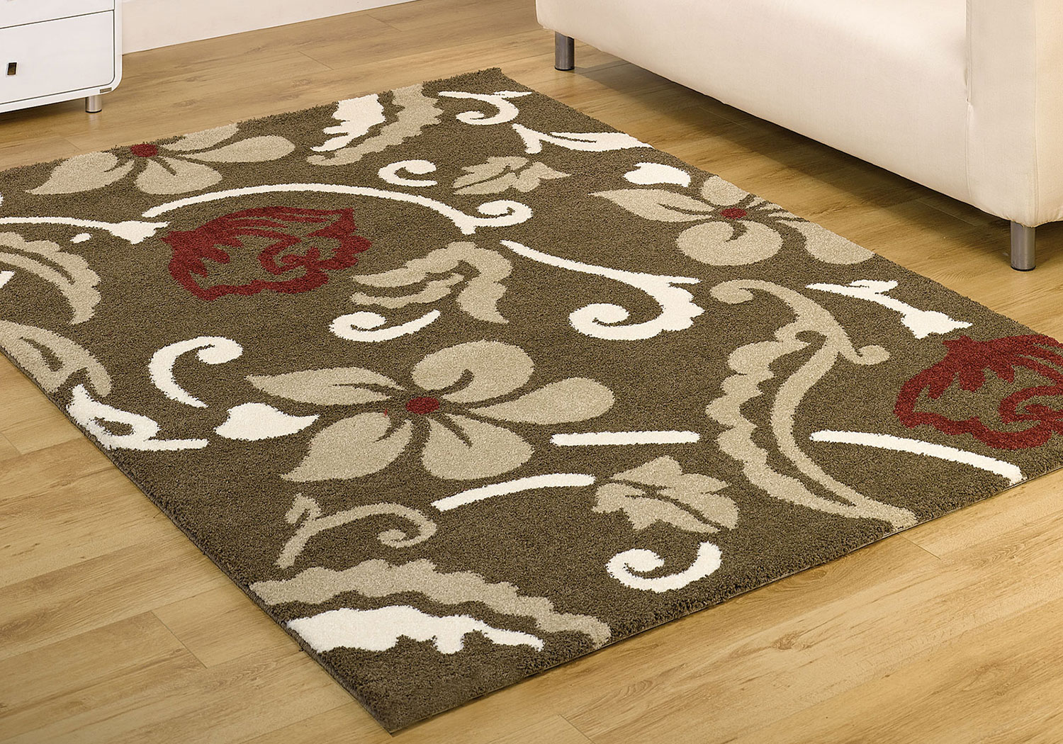Modern Style Flower Rug Large Soft Hand Carved Carpet Small X Large Floral Mat