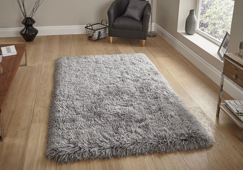 Modern Plain 8 5cm Dense Light Grey